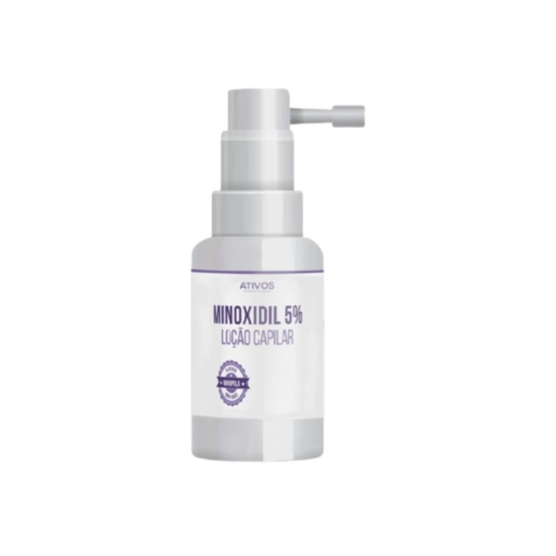 Loção capilar -Minoxidil 5%