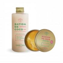 Kit- Batida de Coco- Shampoo de Tratamento e máscara capilar Manjar de Coco
